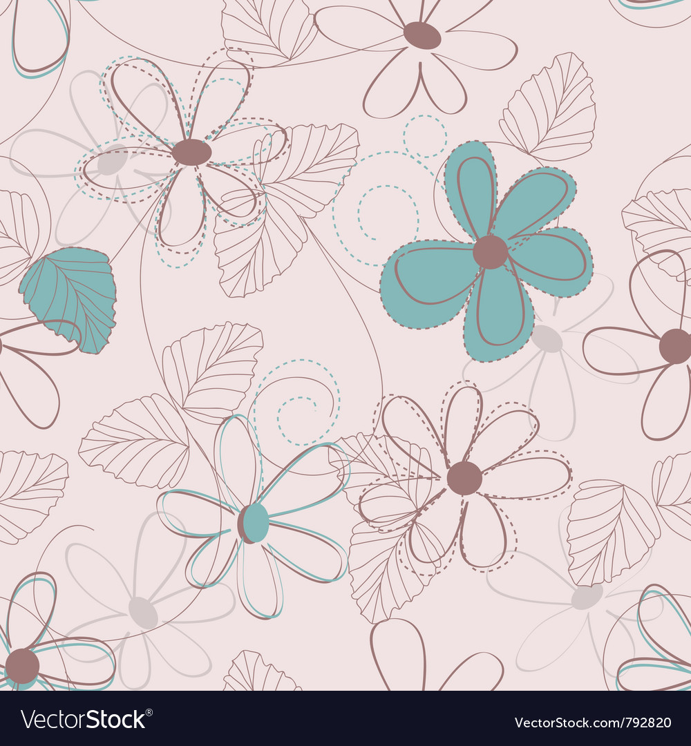 Flower backdrop vector | Price: 1 Credit (USD $1)