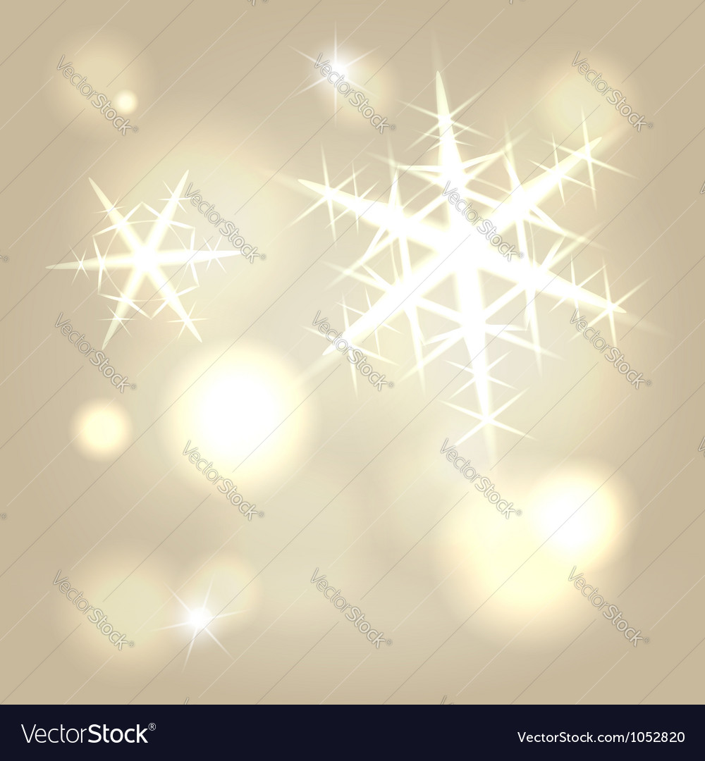 Golden snowflake background vector | Price:  Credit (USD $)