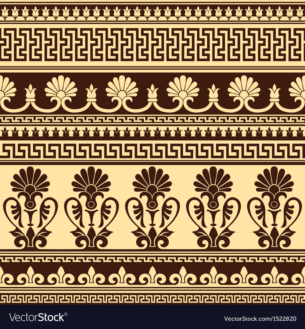 Greek design seamless vector | Price: 1 Credit (USD $1)