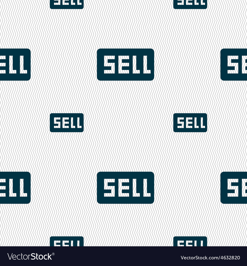 Sell contributor earnings icon sign seamless vector | Price: 1 Credit (USD $1)