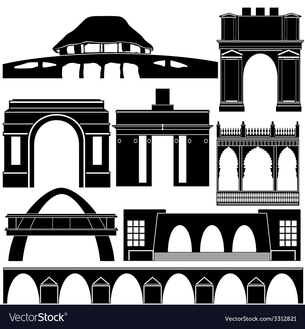 Architecture of the world vector   Price: 1 Credit (USD $1)