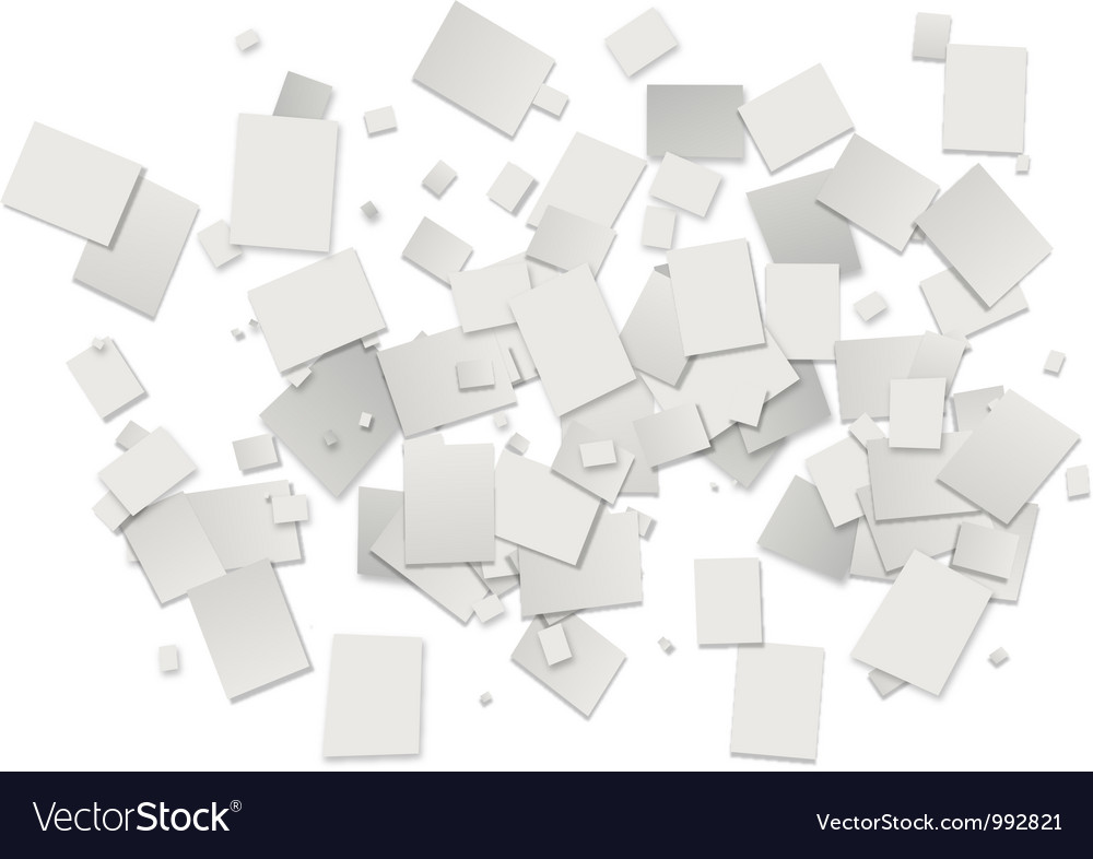 White rectangles background vector | Price: 1 Credit (USD $1)