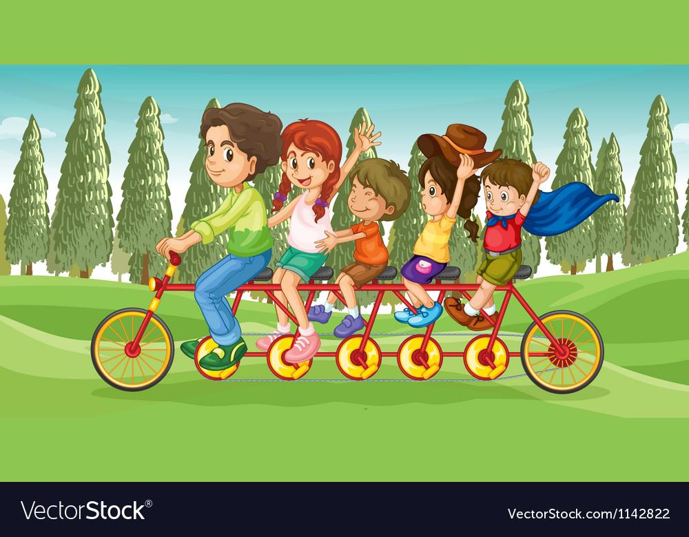 Everybodys bike vector | Price: 3 Credit (USD $3)
