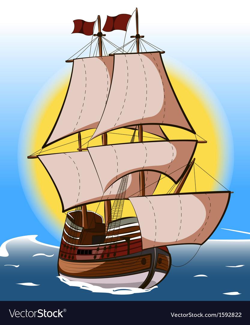Sailboat vector   Price: 1 Credit (USD $1)