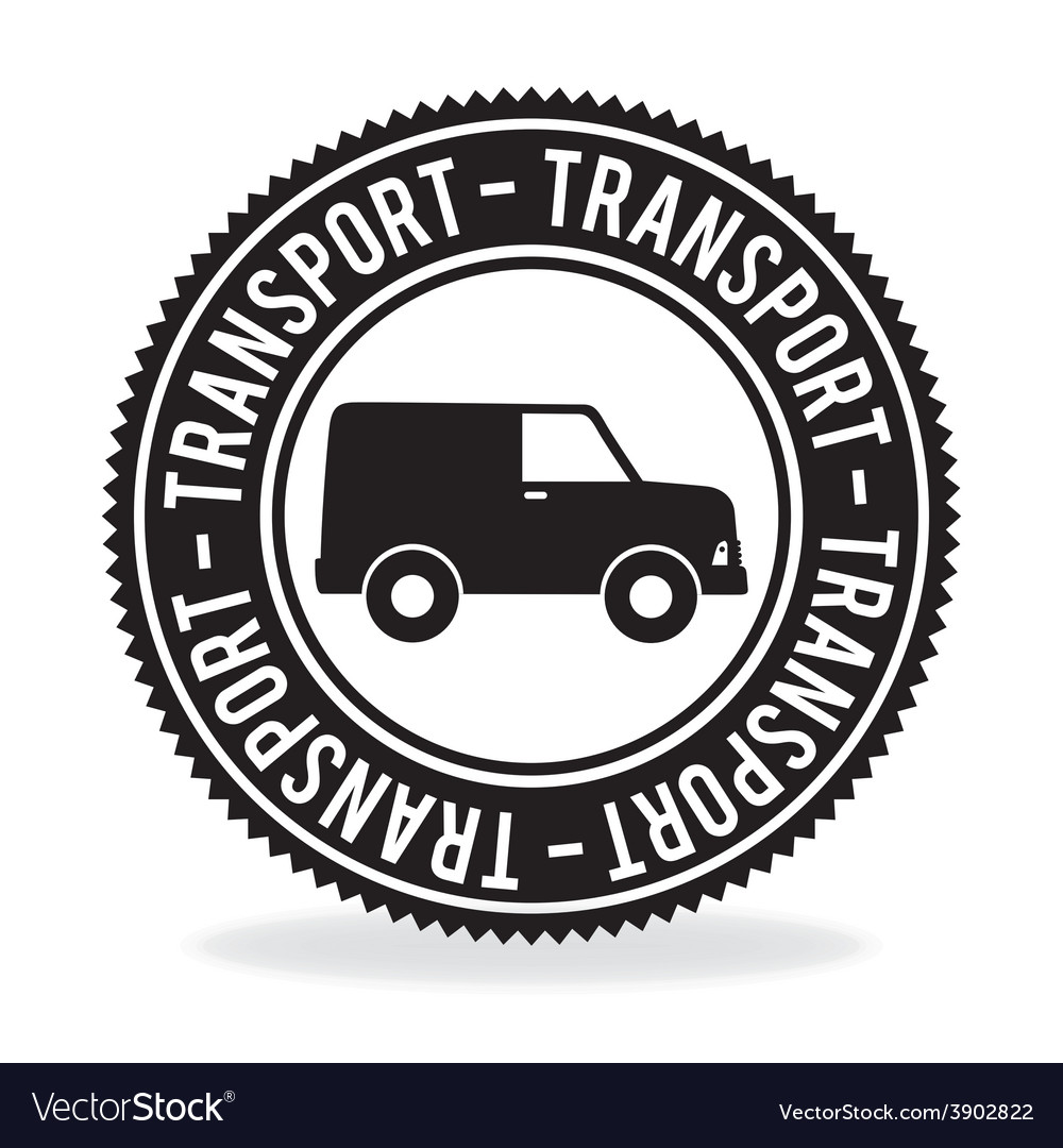 Transport design over white background vector | Price: 1 Credit (USD $1)