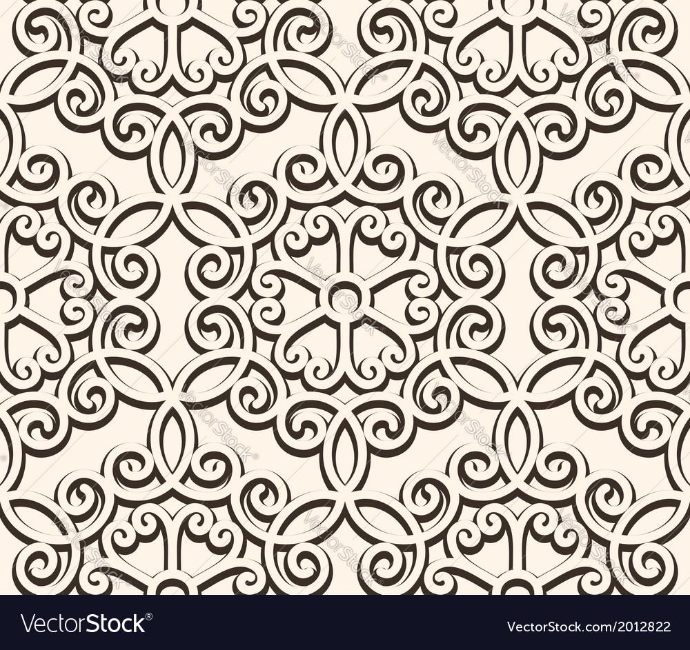 Vintage seamess lace vector | Price: 1 Credit (USD $1)