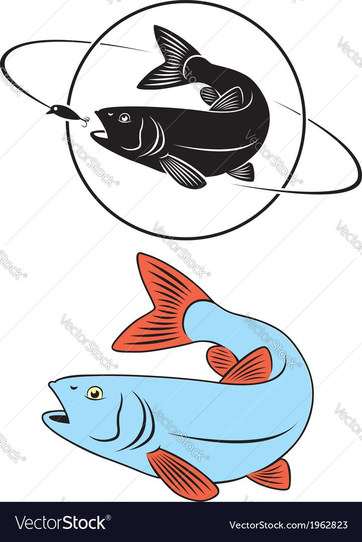 Fish chub vector   Price: 1 Credit (USD $1)