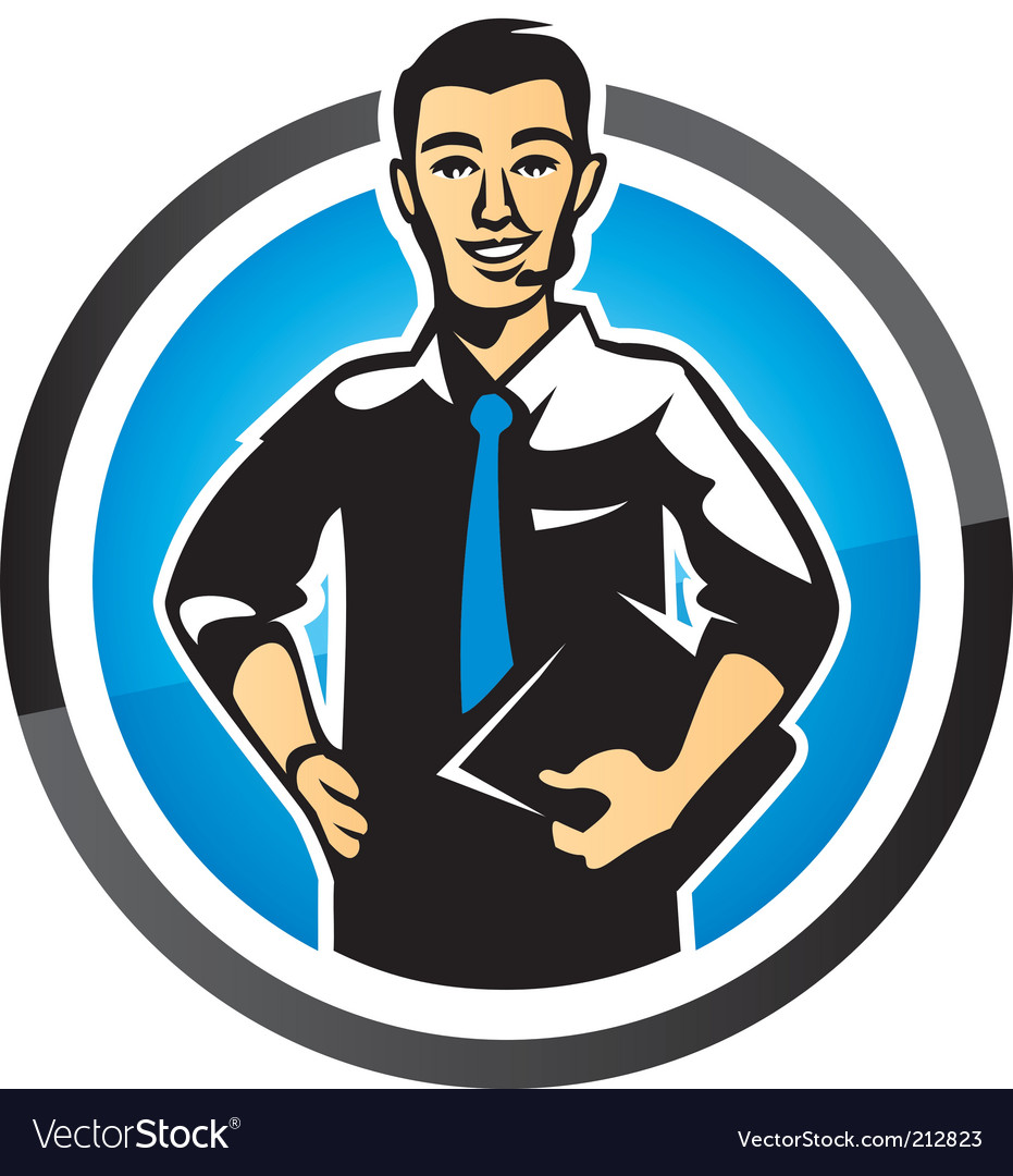 Salesman vector | Price: 1 Credit (USD $1)