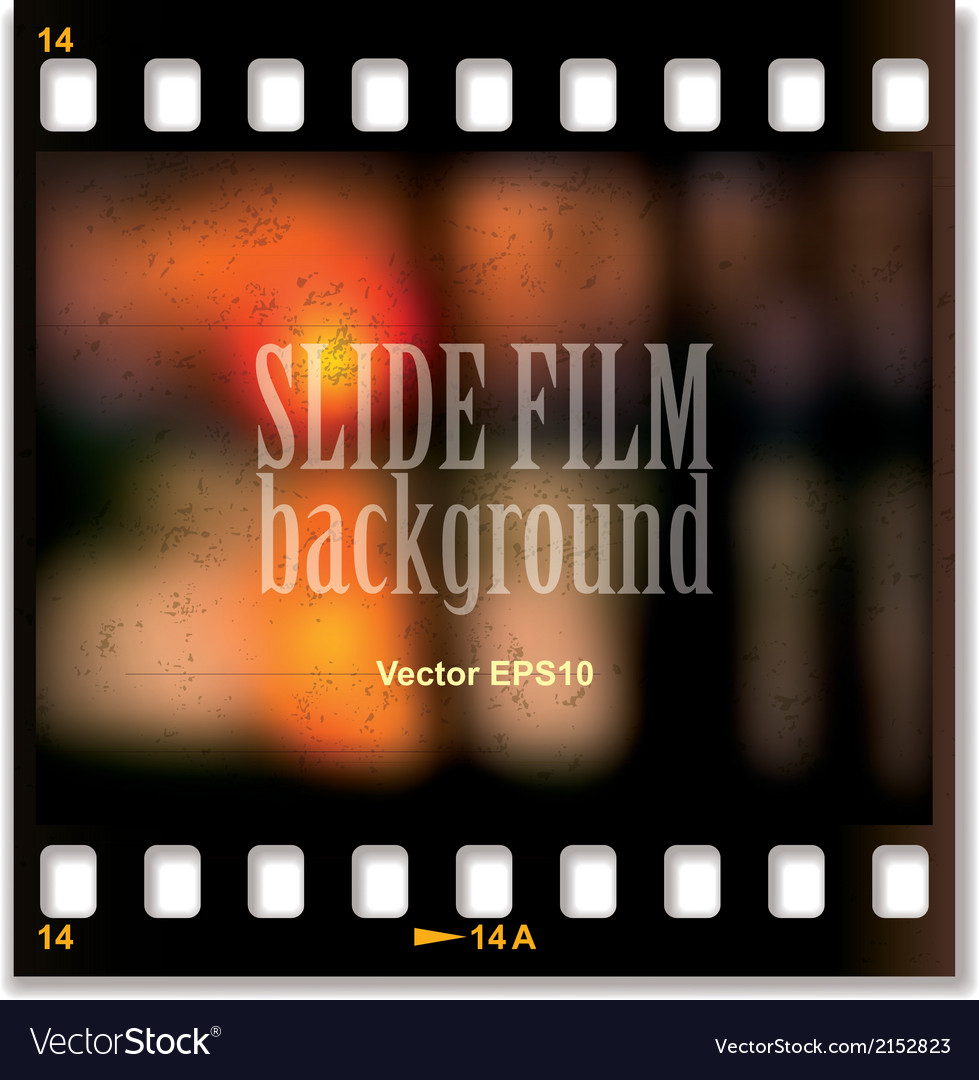 Slide film background vector | Price: 1 Credit (USD $1)