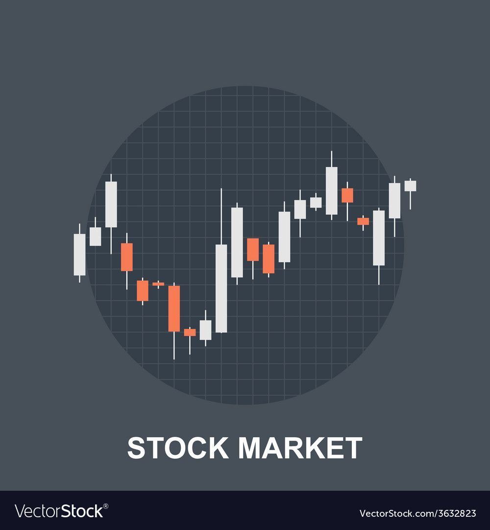 Stock market vector | Price: 1 Credit (USD $1)