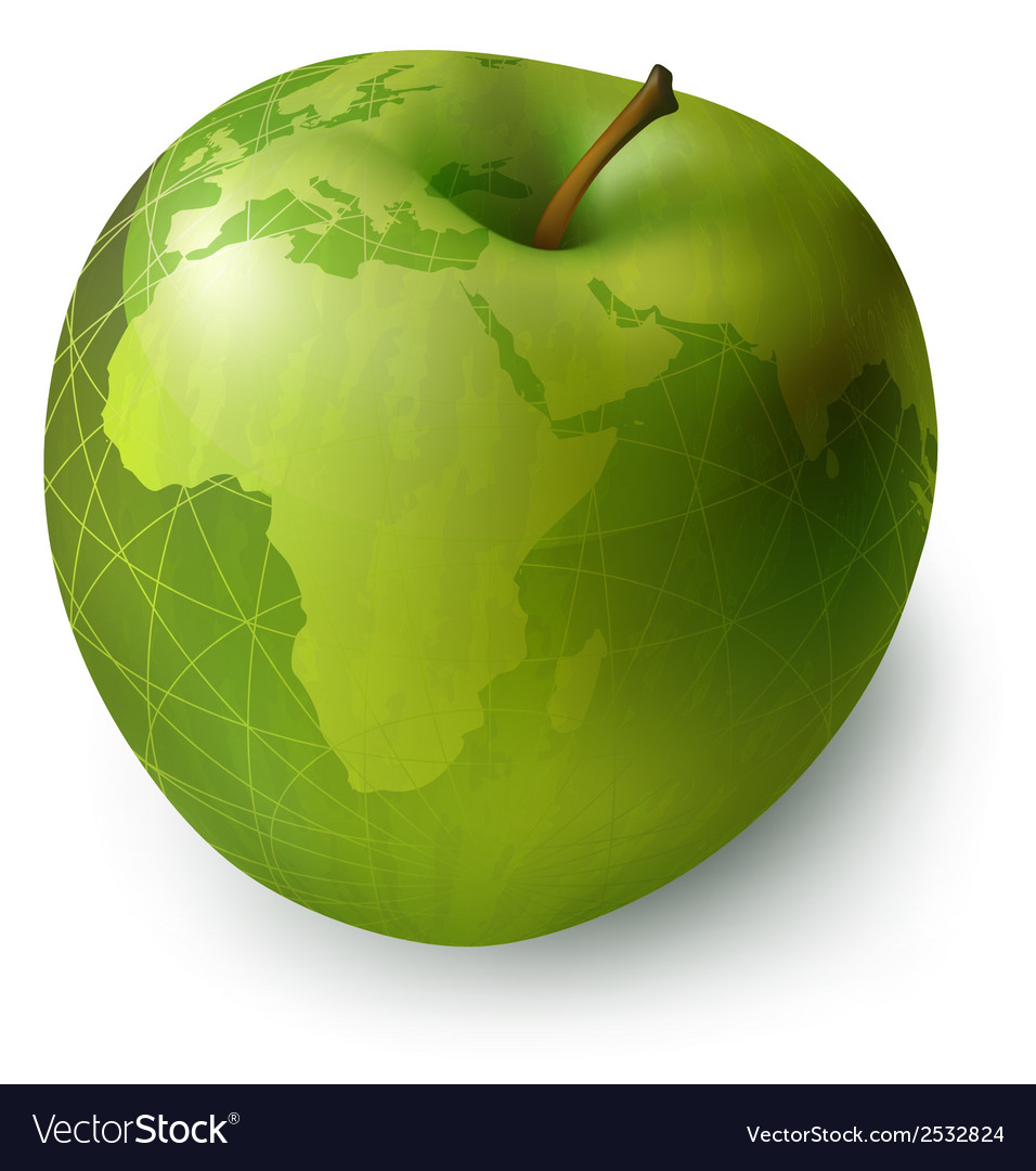 Apple decorative vector | Price: 1 Credit (USD $1)