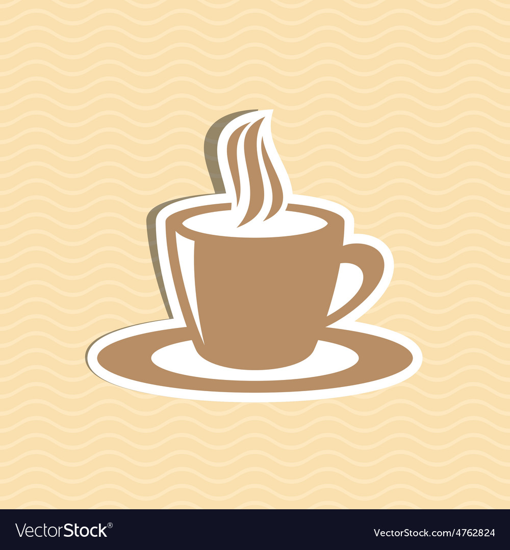 Cup of coffee vector | Price: 1 Credit (USD $1)