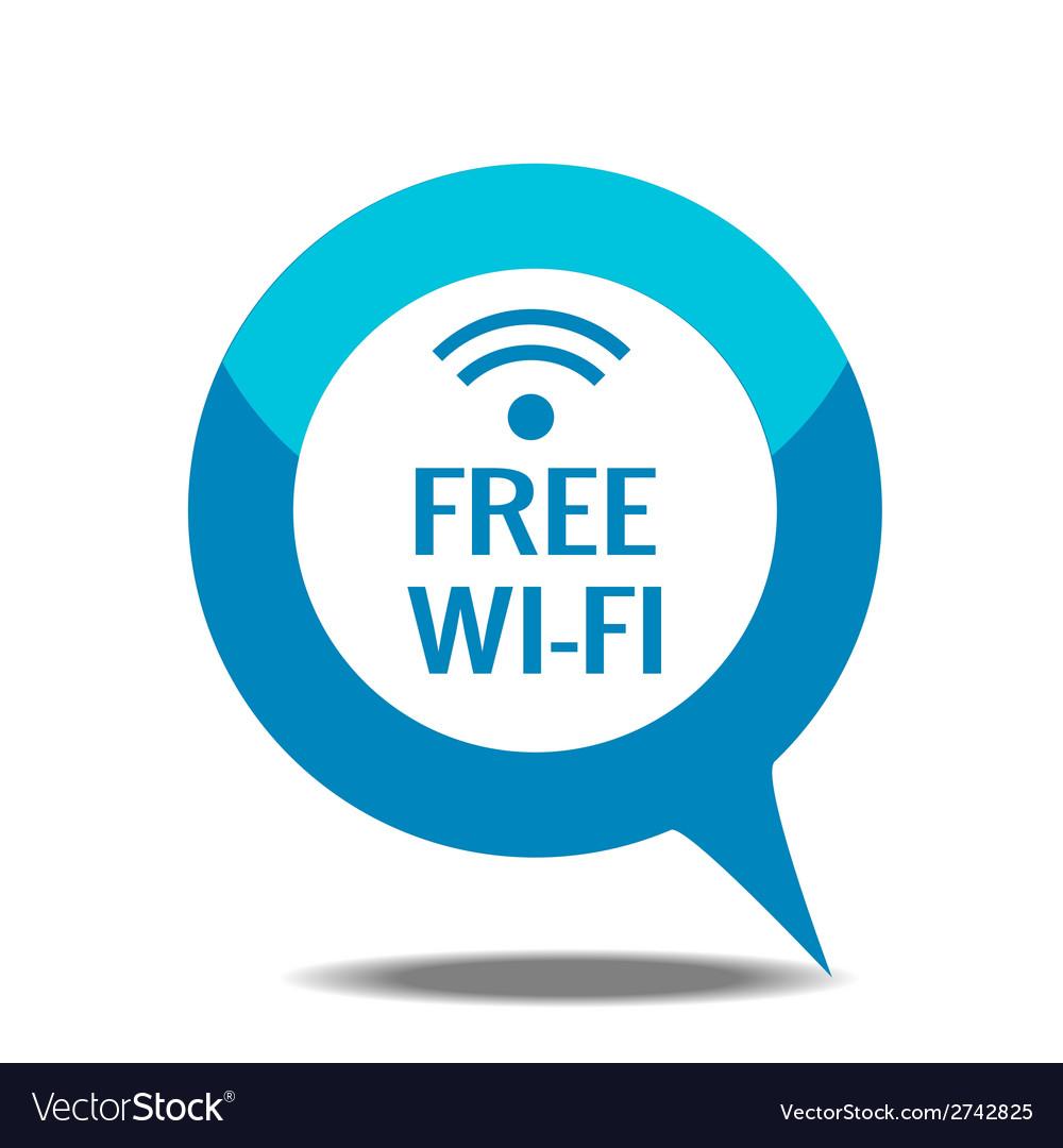 Free wi-fi icon vector | Price: 1 Credit (USD $1)