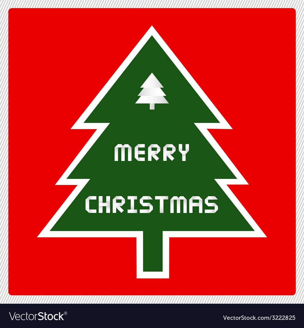 Merry christmas greeting card43 vector | Price: 1 Credit (USD $1)