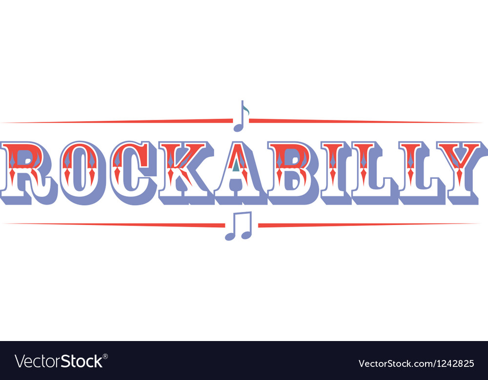 Rockabilly vector | Price: 1 Credit (USD $1)