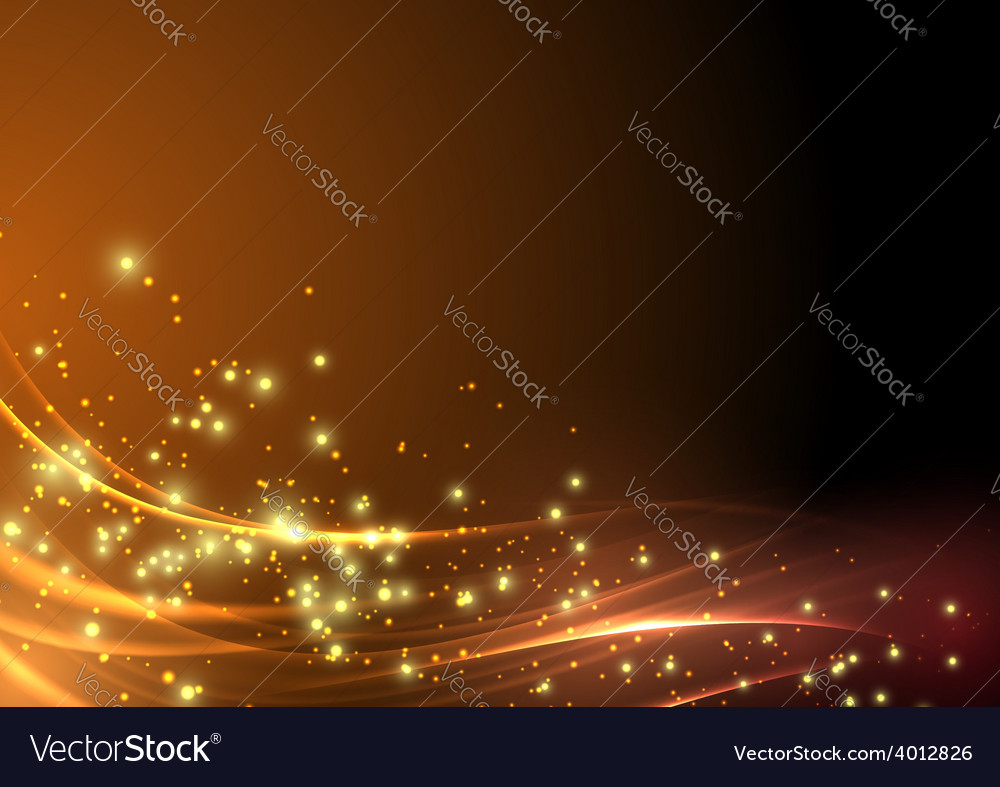 Abstract modern shimmering light flare wave vector | Price: 1 Credit (USD $1)