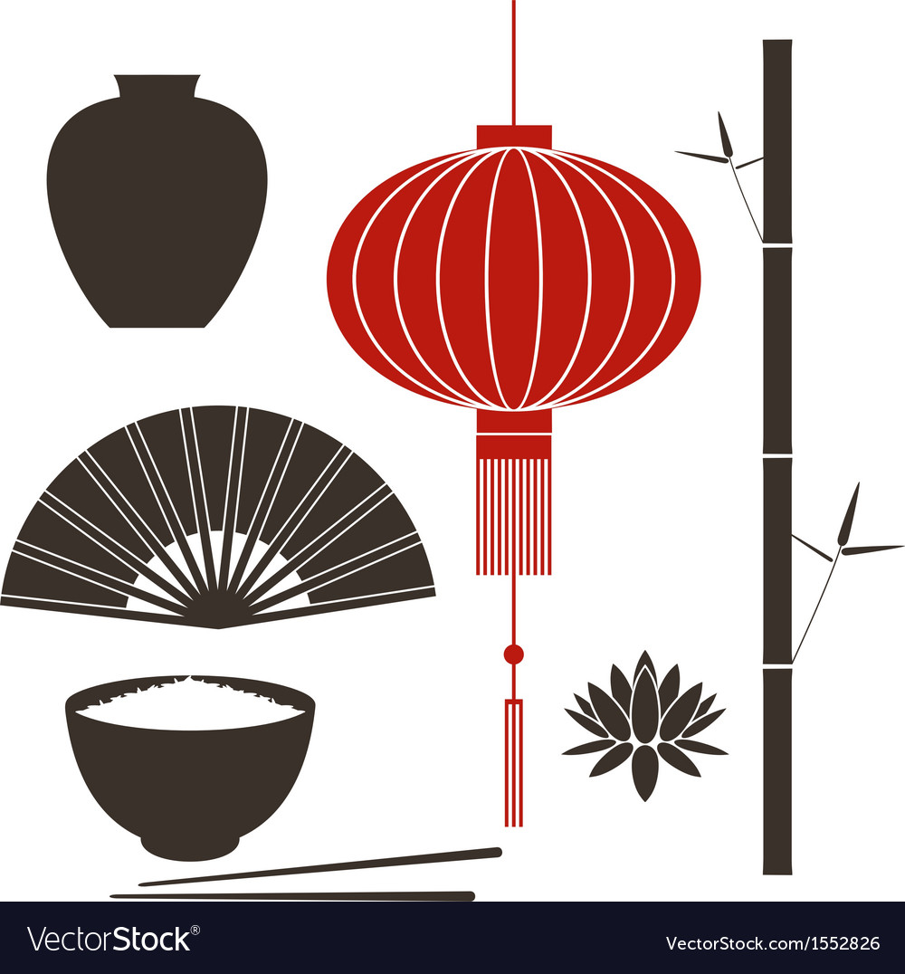 Asia china vector | Price: 1 Credit (USD $1)