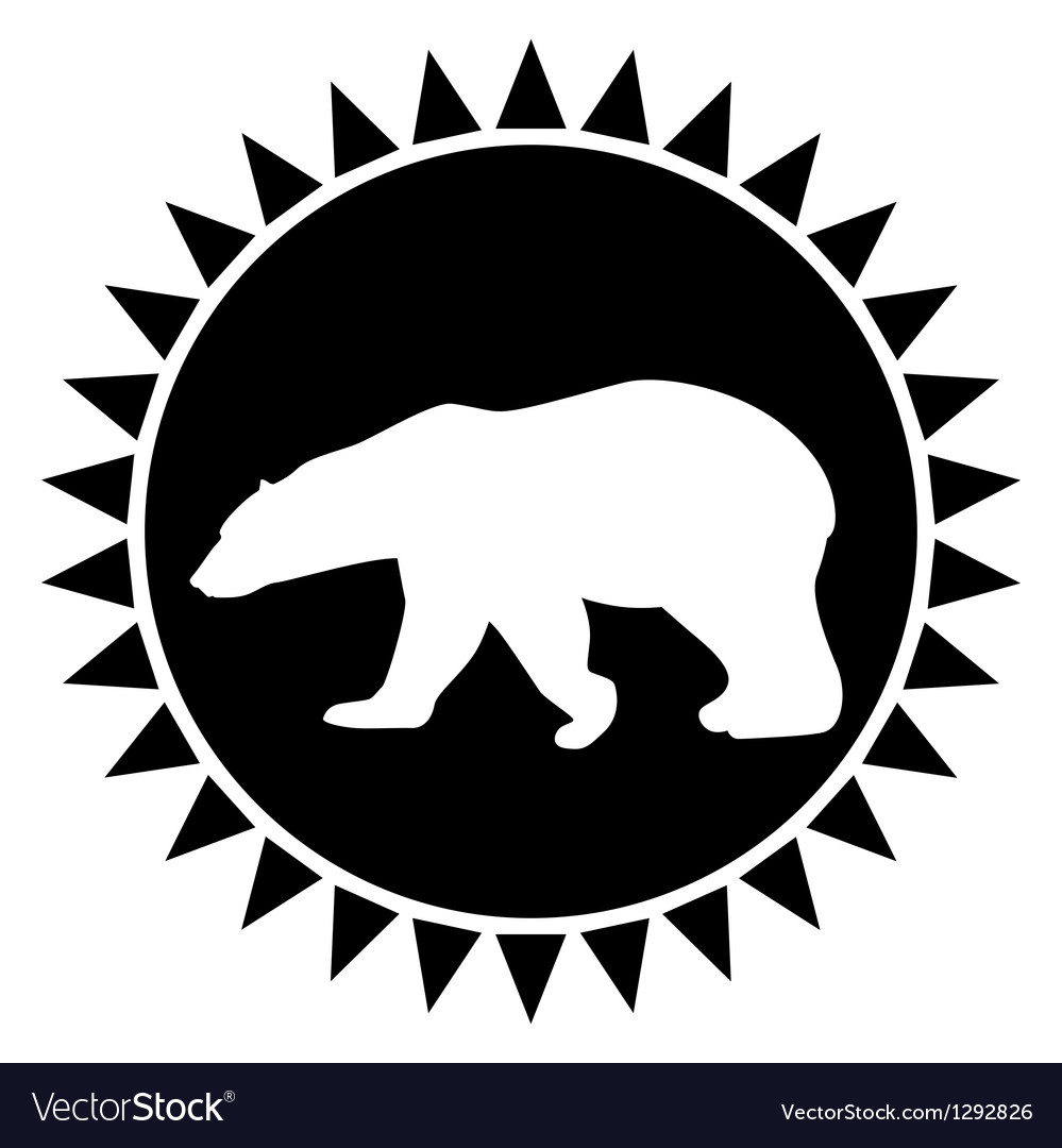 Bear vector | Price: 1 Credit (USD $1)
