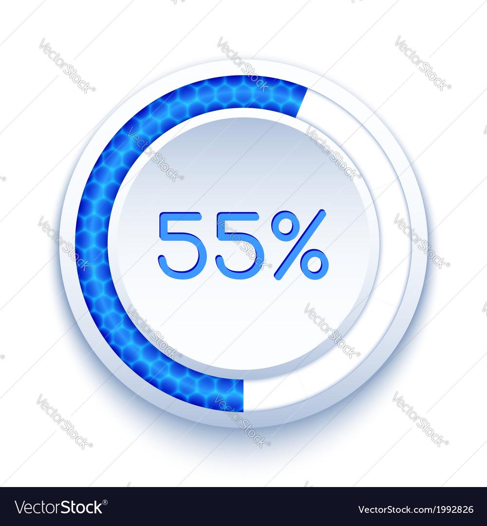 Round progress bar vector   Price: 1 Credit (USD $1)