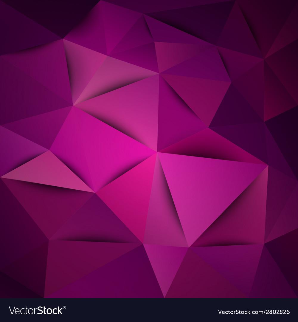 Triangles purple vector | Price: 1 Credit (USD $1)
