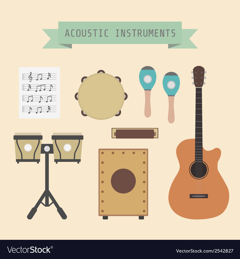 Acousticmusic vector | Price: 1 Credit (USD $1)