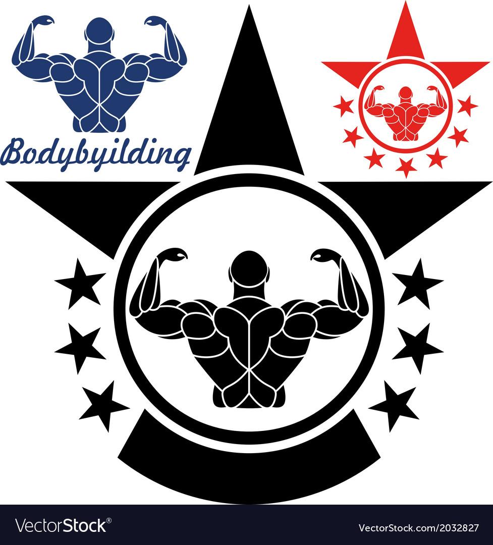 Bodybuilding vector | Price: 1 Credit (USD $1)