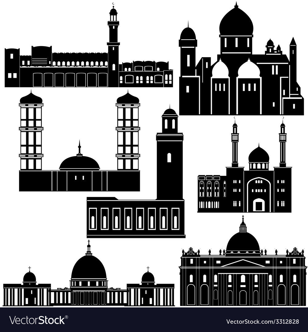Architecture of the world 1 vector | Price: 1 Credit (USD $1)