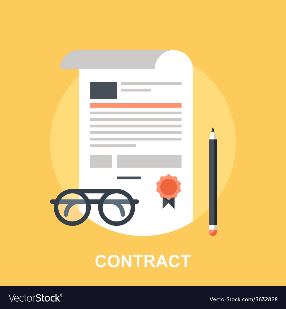 Contract vector | Price: 1 Credit (USD $1)