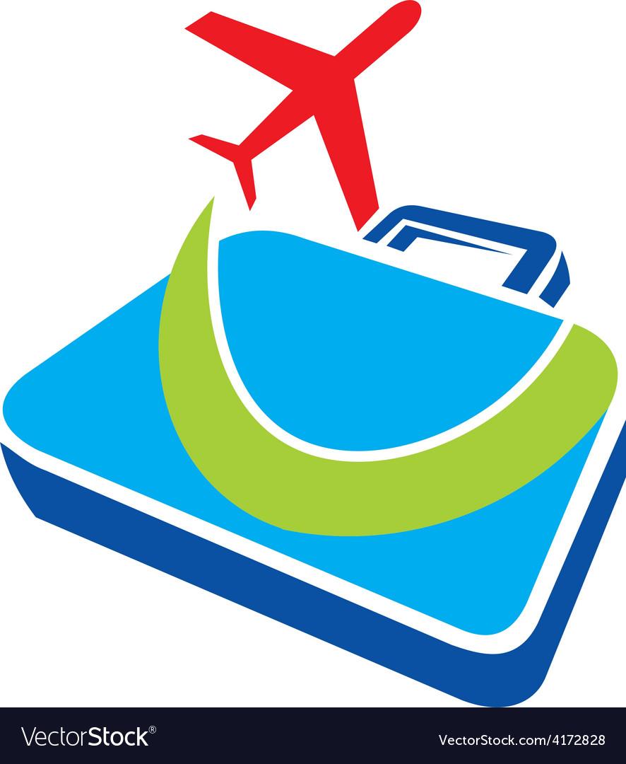 Travel plane business logo vector | Price: 1 Credit (USD $1)