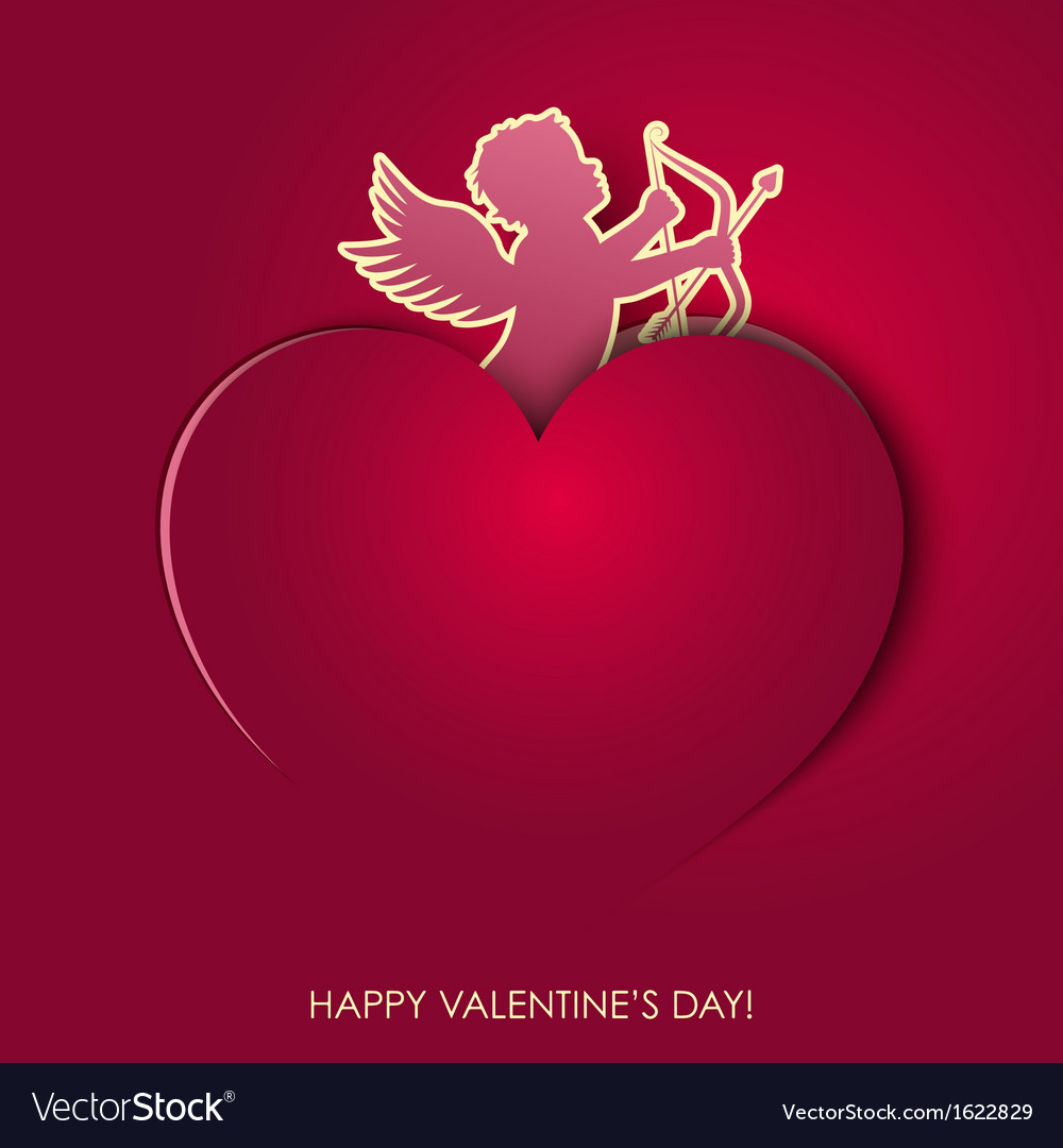 Angel valentines day vector | Price: 1 Credit (USD $1)