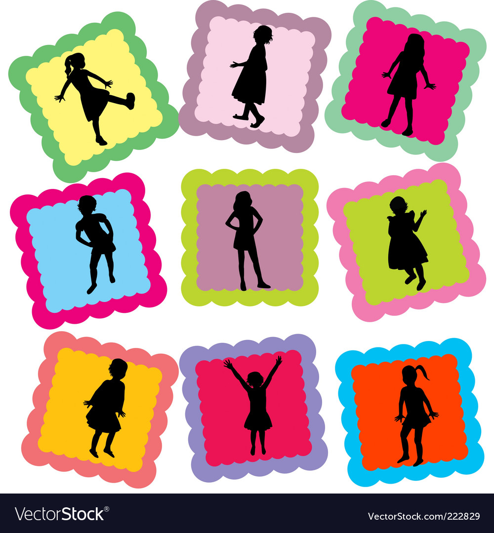 Family stamps vector | Price: 1 Credit (USD $1)