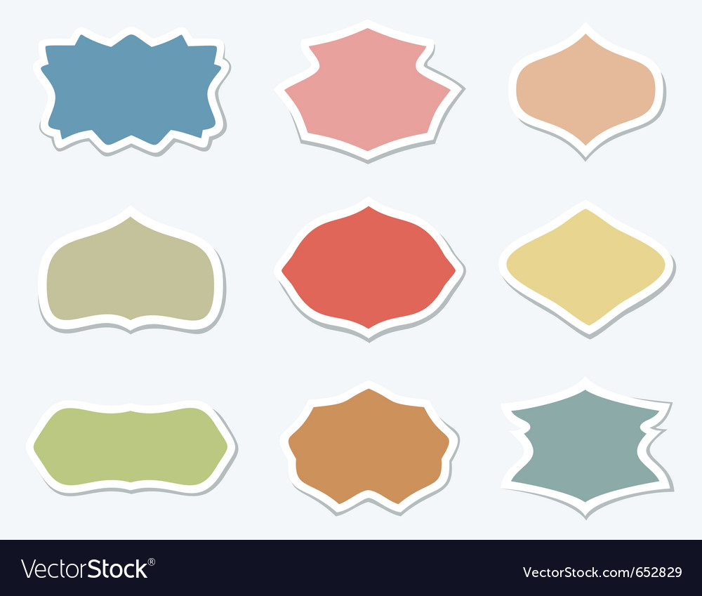 Retro styled frames vector   Price: 1 Credit (USD $1)