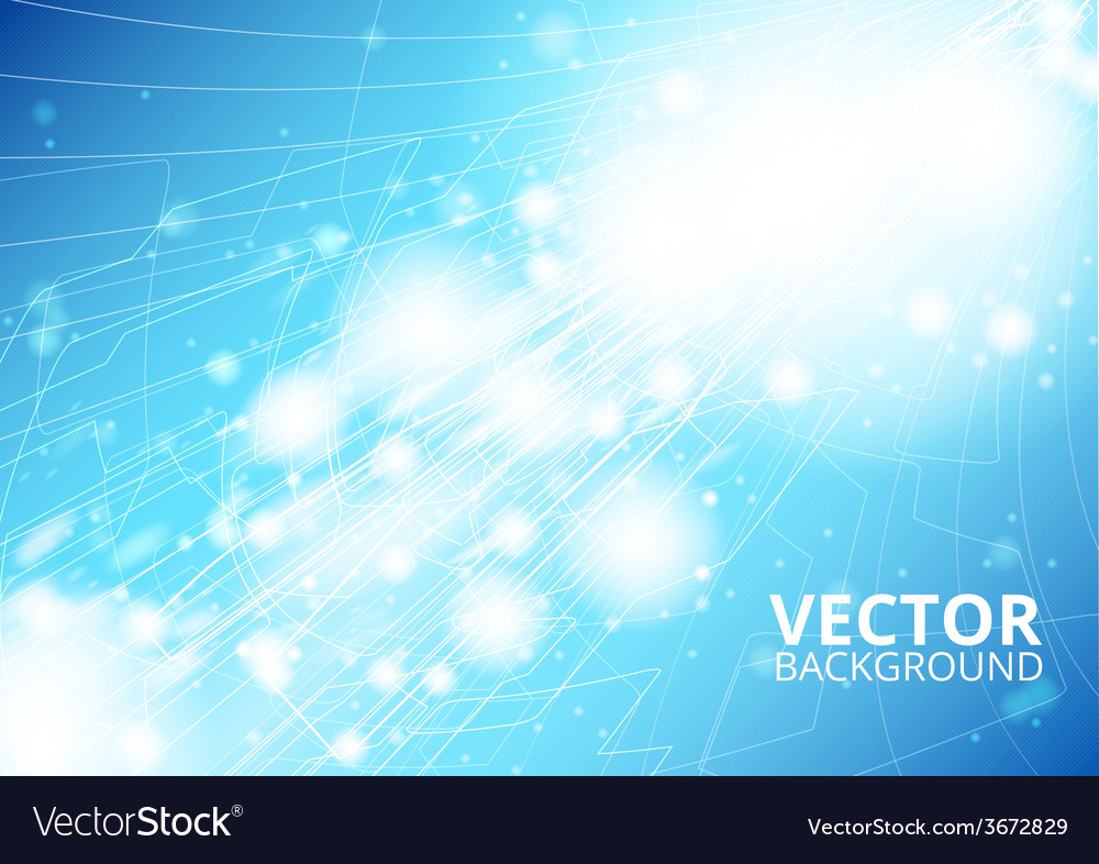 Vertical future technology abstract vector | Price: 1 Credit (USD $1)