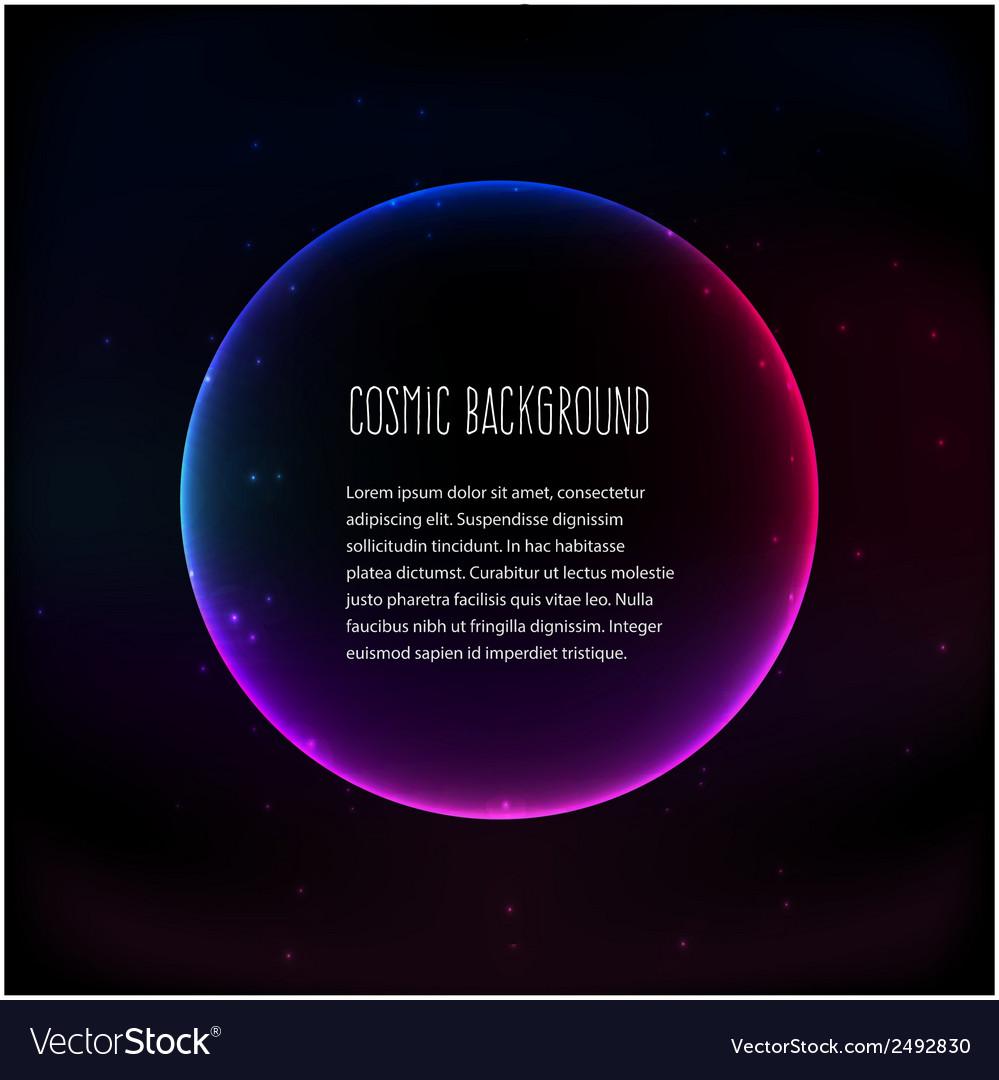 Cosmic background vector | Price: 1 Credit (USD $1)