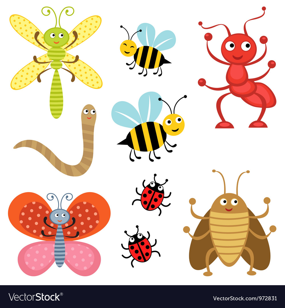 Bugs vector | Price: 3 Credit (USD $3)