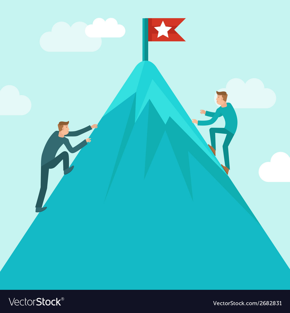 Business competition concept vector | Price: 1 Credit (USD $1)