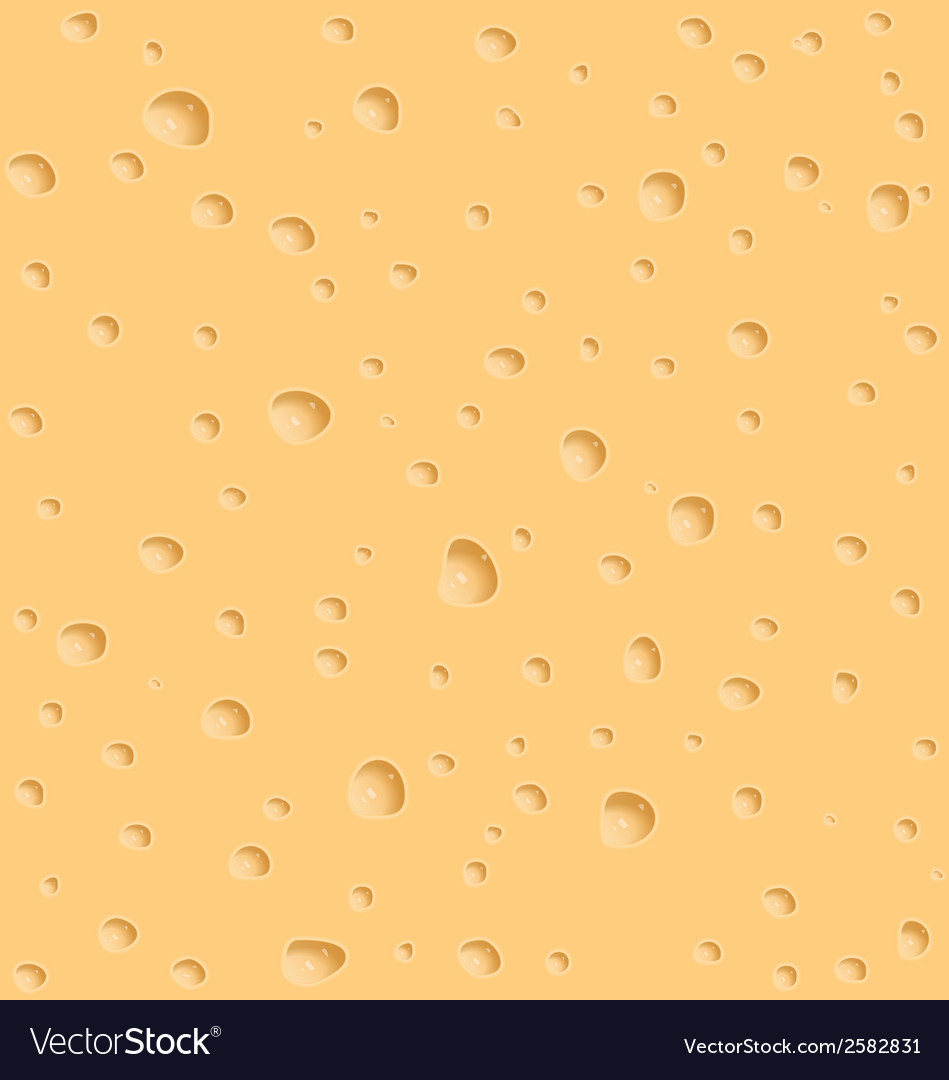 Cheese texture with holes vector | Price: 1 Credit (USD $1)