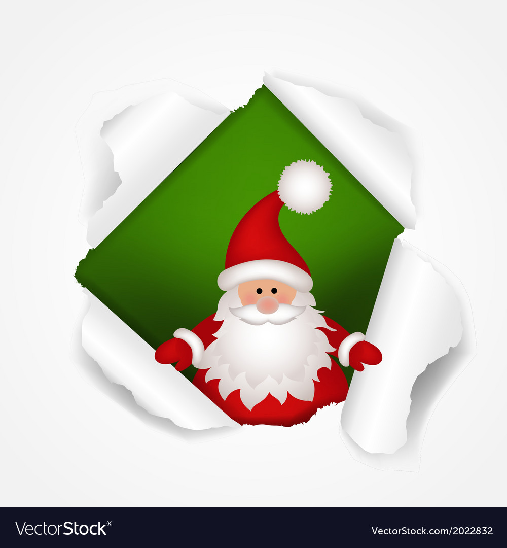 Happy christmas poster vector | Price: 1 Credit (USD $1)