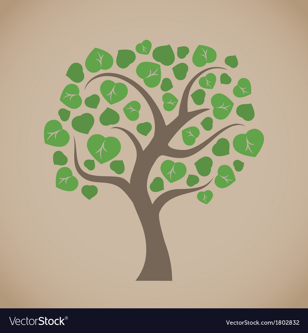 Simple tree vector | Price: 1 Credit (USD $1)
