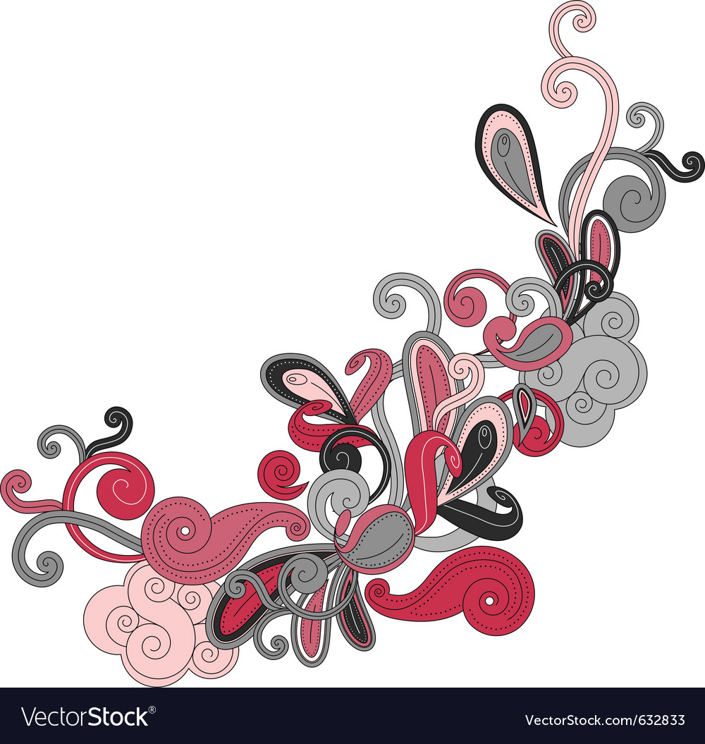 Abstract contour shape vector | Price: 1 Credit (USD $1)