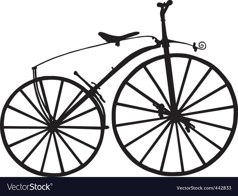 Boneshaker bicycle vector | Price: 1 Credit (USD $1)