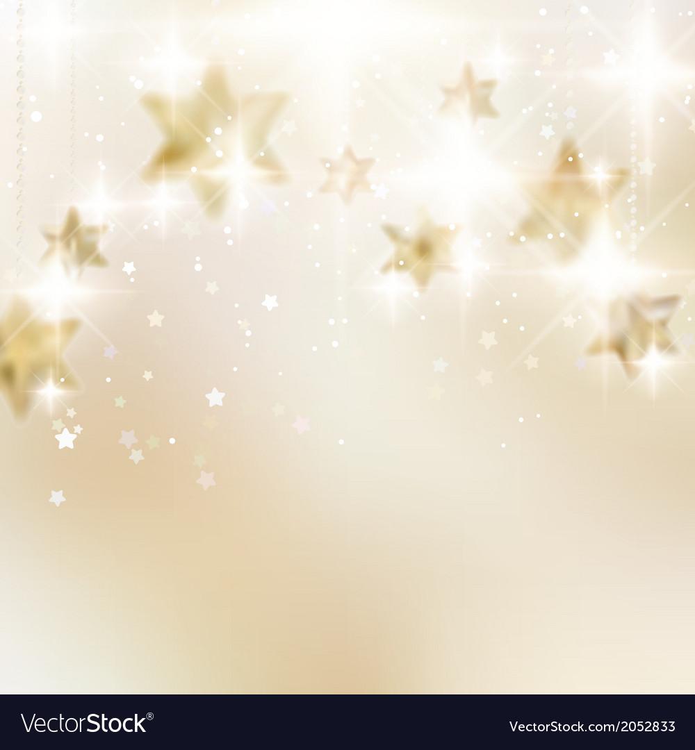 Elegant christmas snowflakes and copyspace vector | Price: 1 Credit (USD $1)