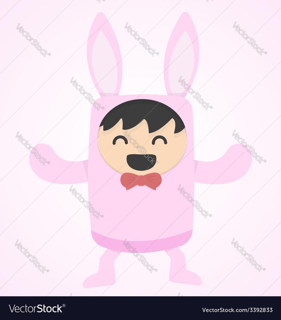 Funny bunny vector | Price: 1 Credit (USD $1)