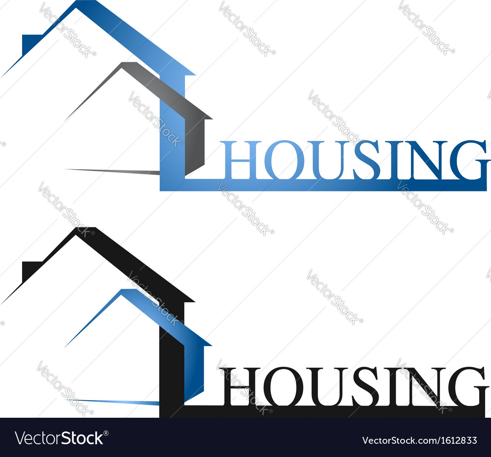 Housing design vector | Price: 1 Credit (USD $1)