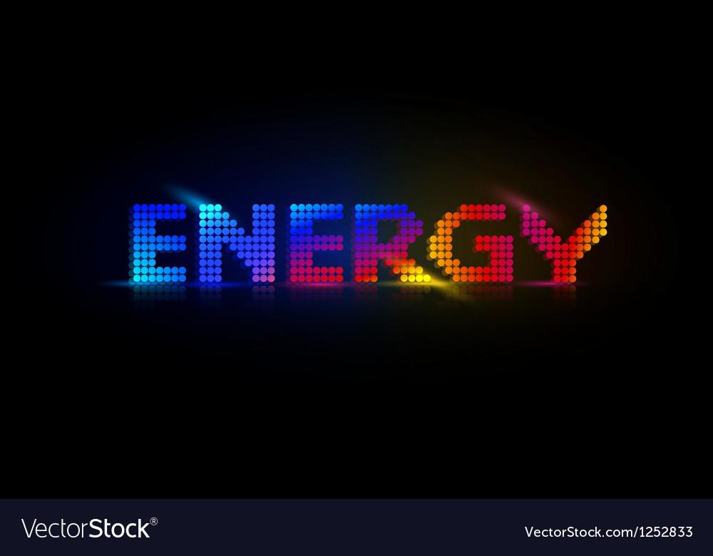 Neon energy background vector | Price: 1 Credit (USD $1)