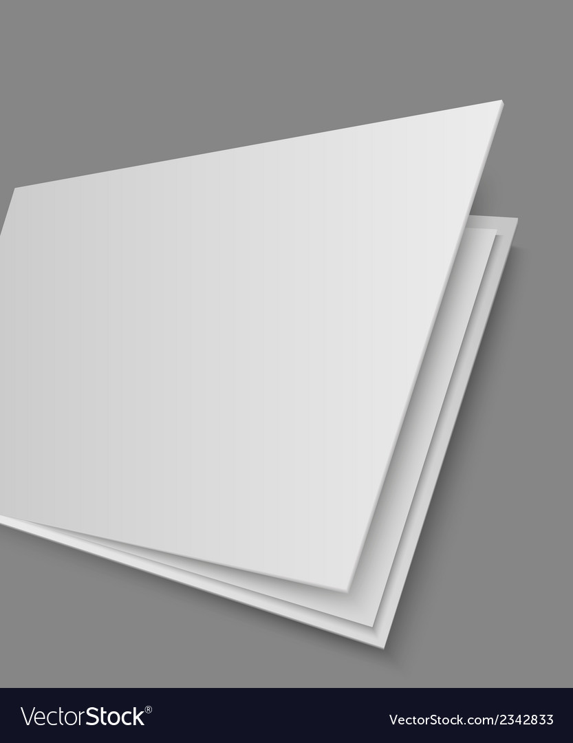 Open books page on gray background vector | Price: 1 Credit (USD $1)