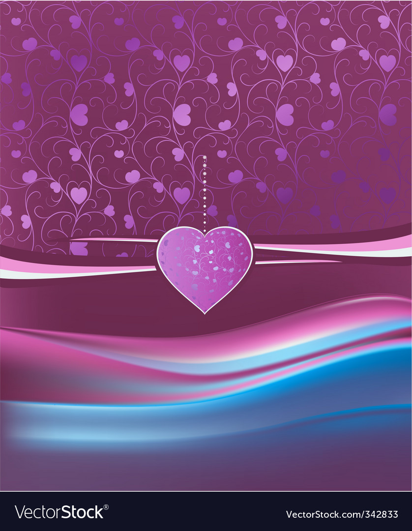 Ornament heart vector | Price: 1 Credit (USD $1)