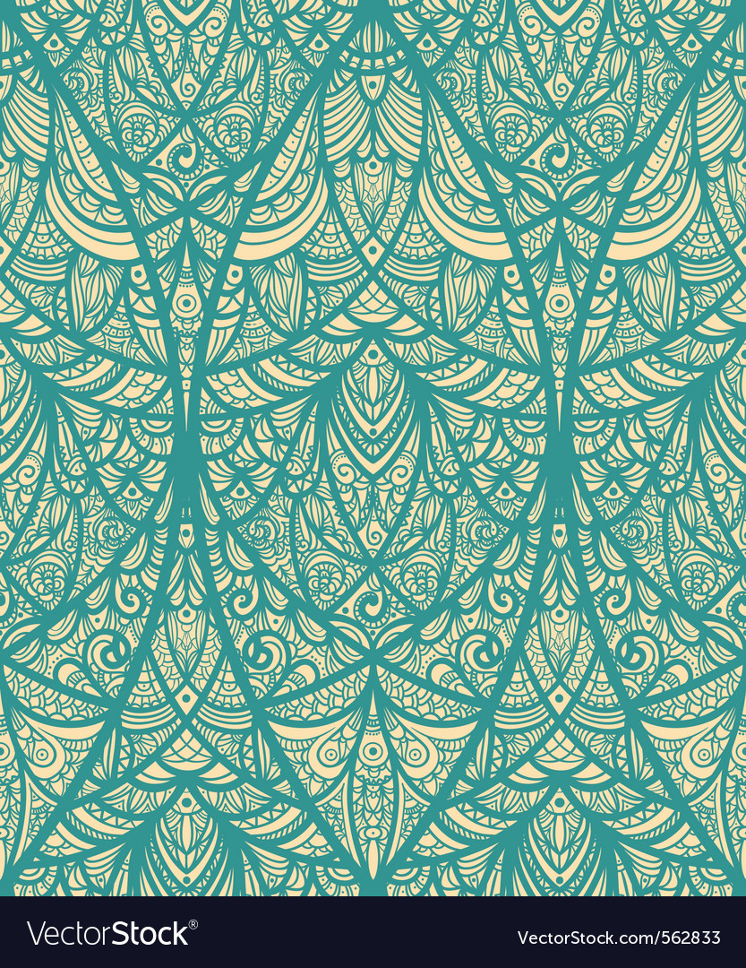 Seamless eastern pattern vector | Price: 1 Credit (USD $1)