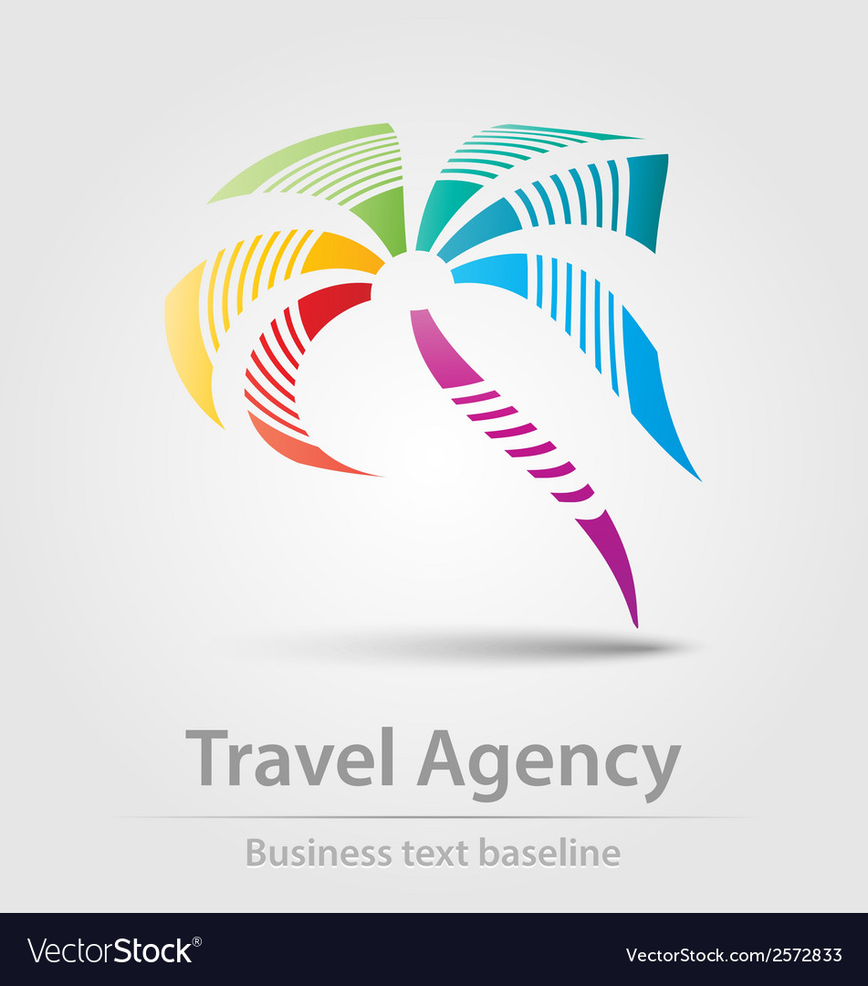 Travel agency business icon vector | Price: 1 Credit (USD $1)
