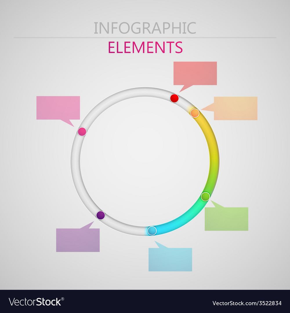 Abstract 3d paper infographic elements for print vector   Price: 1 Credit (USD $1)